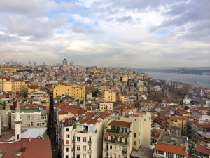 Istanbul from the top of Galata Tower