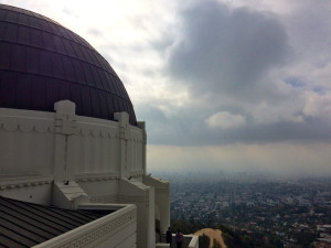 I'm a total museum nerd, so a visit to the Griffith Observatory was a must.